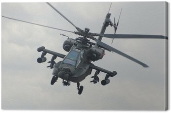 Canvas Print Apache helicopter