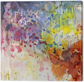 Canvas Print Artystyczne tło akwarelowe,