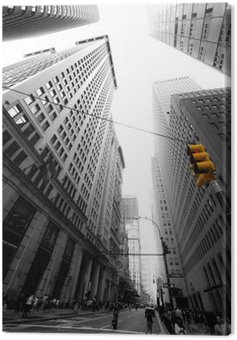 avenue new yorkaise Canvas Print
