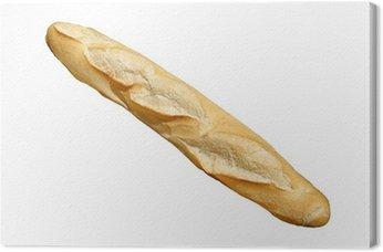 Canvas Print Baguette de pain frais