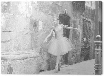 Canvas Print bailarina 4