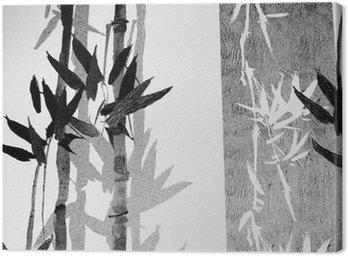 Canvas Print Bamboo / Texture
