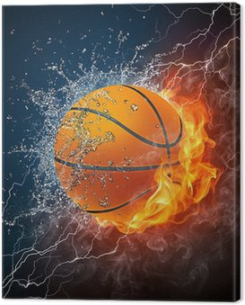 Canvas Print Basketball Ball