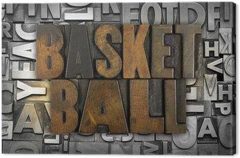 Canvas Print Basketball