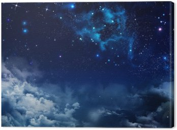 beautiful background of the night sky with stars
