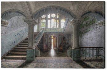 Beelitzer Säulengewölbe Canvas Print