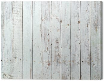Canvas Print Black and white background of wooden plank