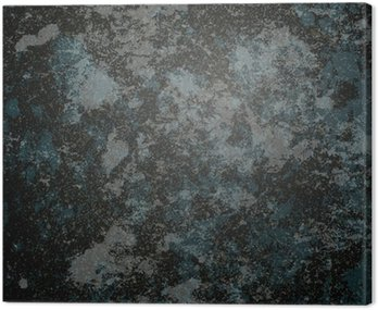Canvas Print black stone