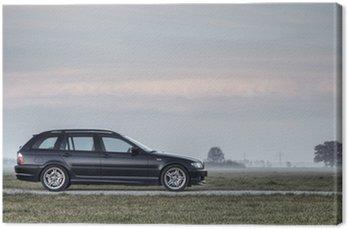 Canvas Print BMW e46 330d Touring M-Paket