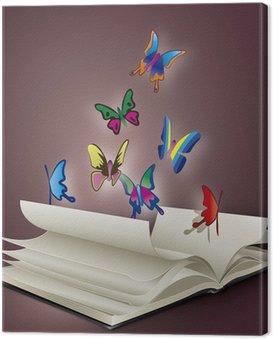 Canvas Print book