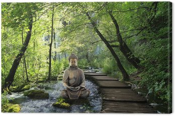 Canvas Print Bouddha et Serenite