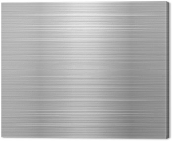 Brushed metal or aluminium plate