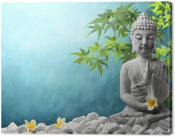 Canvas Print Buddha in meditation