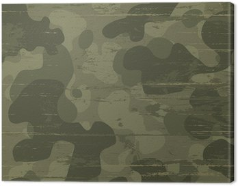 Canvas Print Camouflage military background. Vector illustration, EPS10