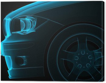 Canvas Print car front