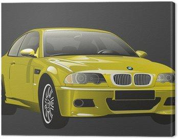 Car looking like BMW M3