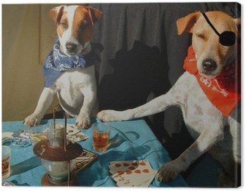 celebrity critter poker - color version Canvas Print