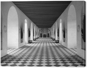 Canvas Print checkerboard floor