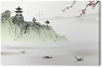 Canvas Print Chinese landscape painting
