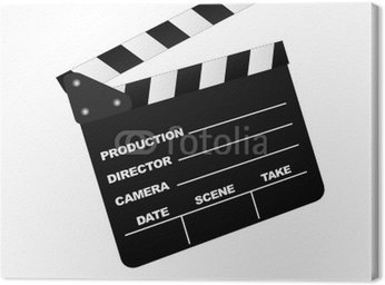 Cinema Clap board