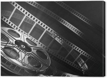 Canvas Print Cinema film reel