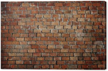 Canvas Print Classic Beautiful Textured Brick Wall