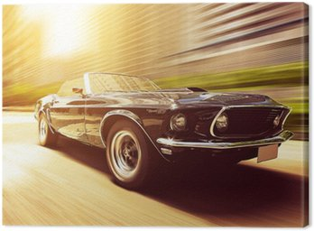 Canvas Print Classic Cabriolet
