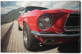 Canvas Print Classic Muscle Car