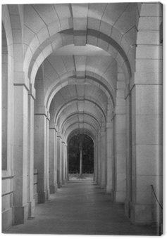 Classical corridor of historical architecture