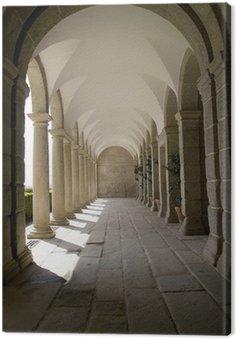 cloisters Canvas Print