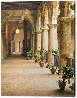Canvas Print Colonial palace in Old Havana