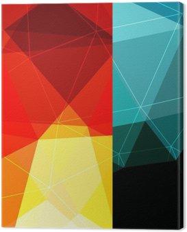 Canvas Print Color block background