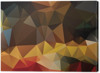 Colorful abstract background Canvas Print