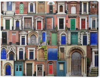 COMPOSITE OF FRONT DOORS