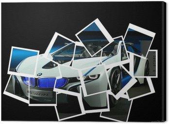 Canvas Print concept car bmw