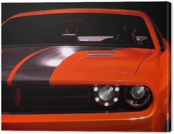 Canvas Print concept muscle car
