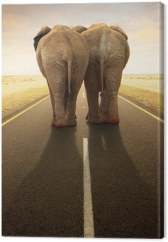 Conceptual - Going away together / travel by road