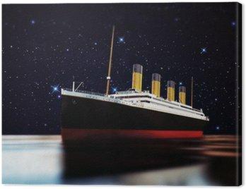 Canvas Print cruise ship
