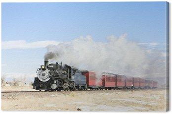 Canvas Print Cumbres and Toltec Narrow Gauge Railroad, Colorado, USA