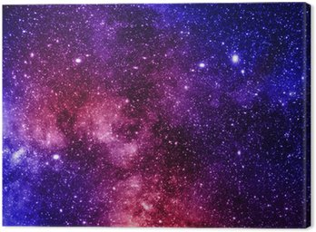 Canvas Print deep outer space