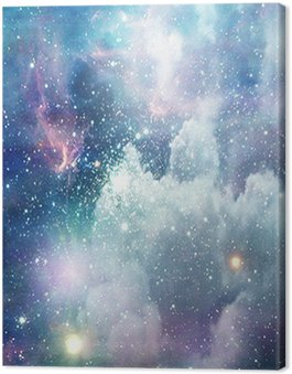 Canvas Print Deep Space Scene