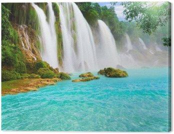 Canvas Print Detian waterfall