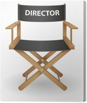 director movie chair vector illustration