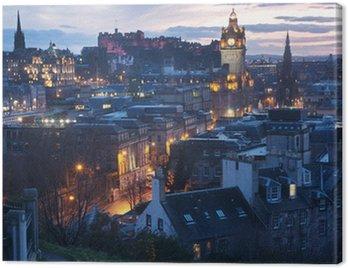 Canvas Print Edinburgh, Scotland