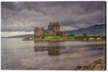 Canvas Print Eilean Donan Castle, Highlands, Scotland