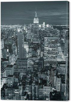 Canvas Print Empire State Building closeup