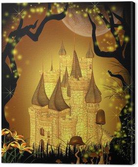 Canvas Print Fairytale Castle
