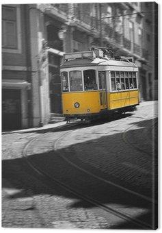 Famous Tram number 28 in Lisbon