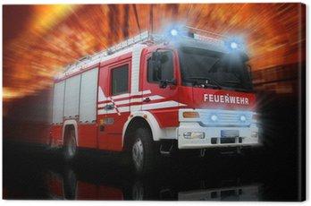 Canvas Print Feuerwehr