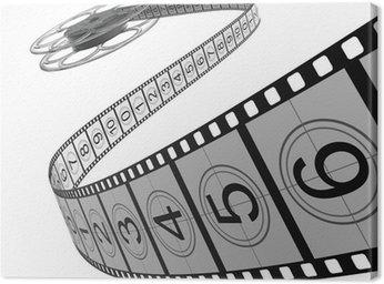 Canvas Print Filmrolle - Filmstreifen